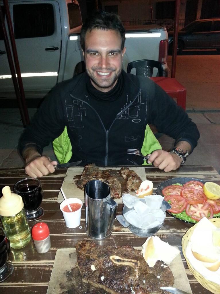 Soooo viel Fleisch.... und immernoch günstiger als in der Schweiz ein kleines Plätzli..