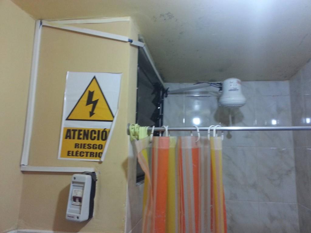 Würdet ihr hier duschen...