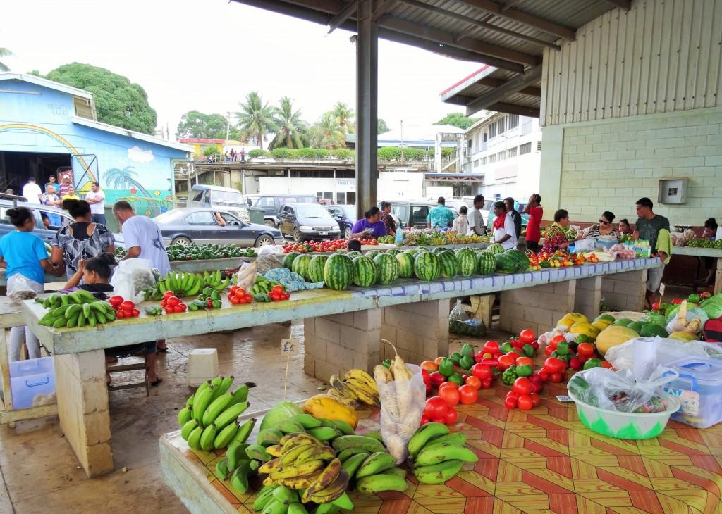 Heute ist Markttag in Vava