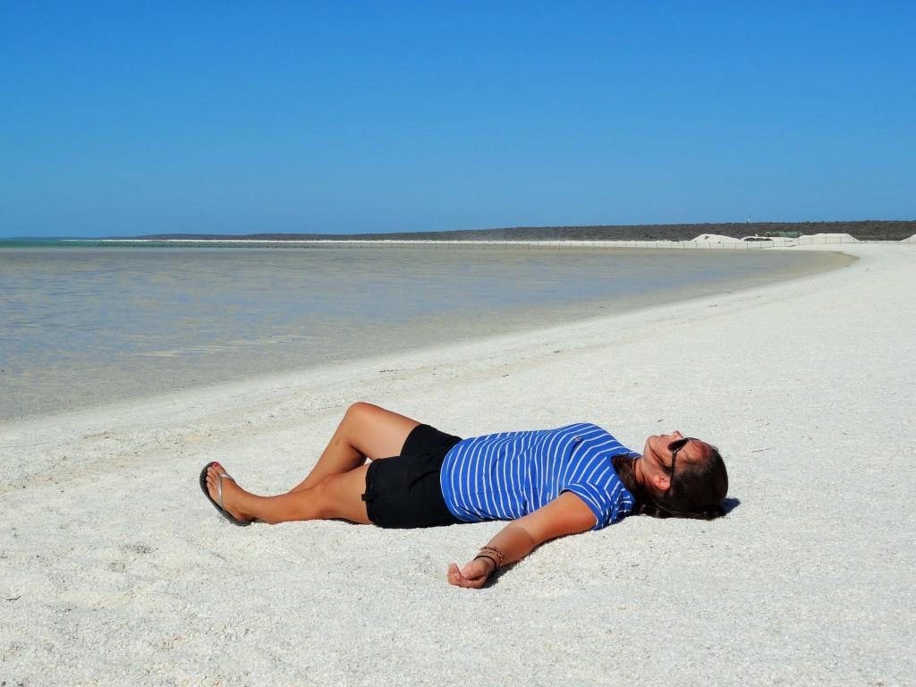 Der Shell Beach...