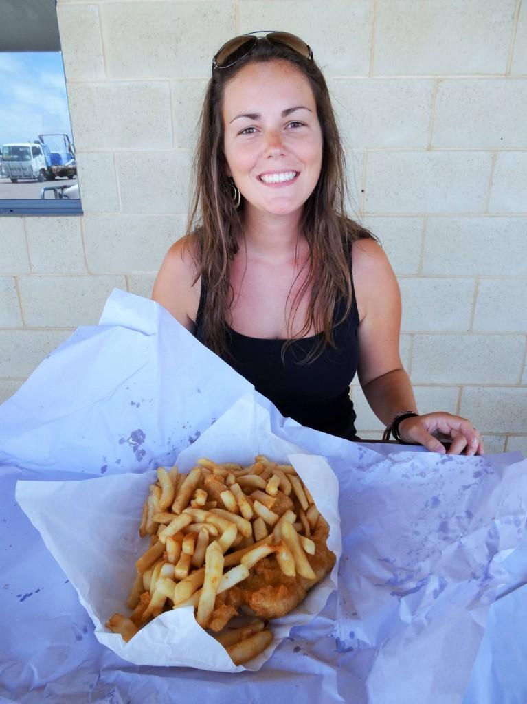 Die besten Fish and Chips der Welt...yummy...