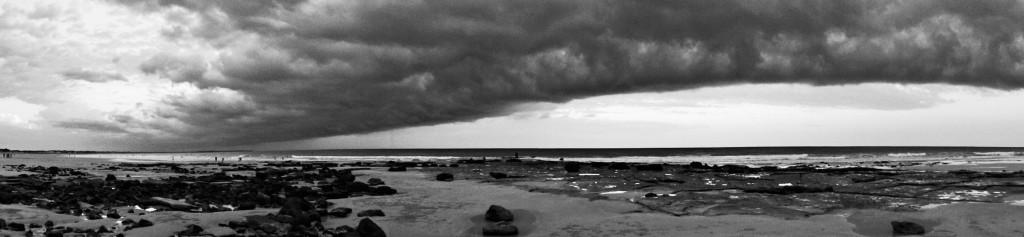 Ein Gewitter zieht auf...