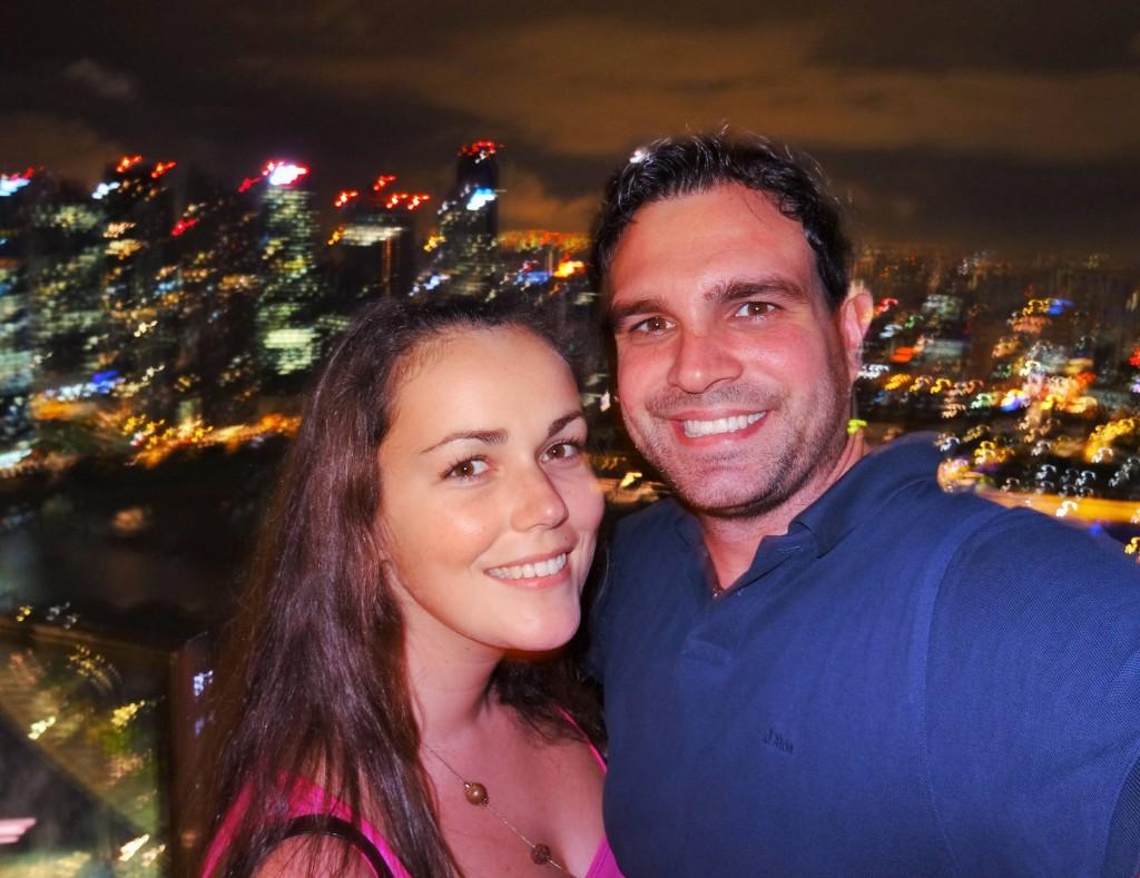 Bye Bye Singapur....wir sehen uns in 2 Wochen wieder...
