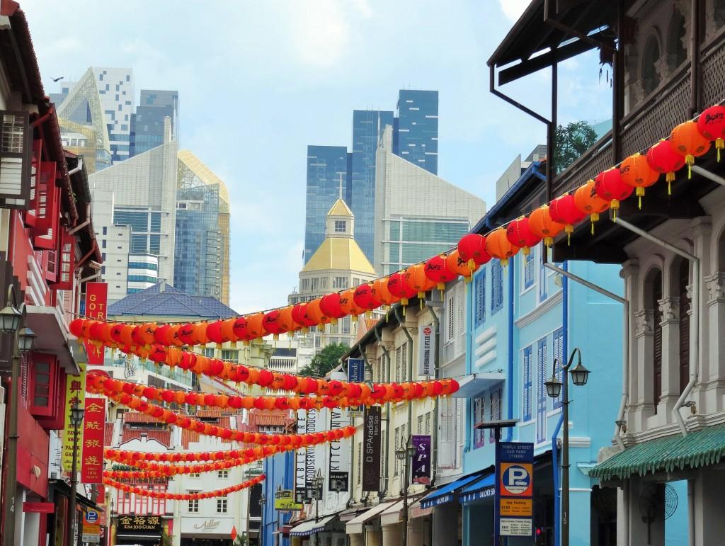 China Town von Singapur