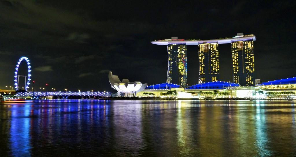 Das Marina Bay Sands, Singapurs Wahrzeichen