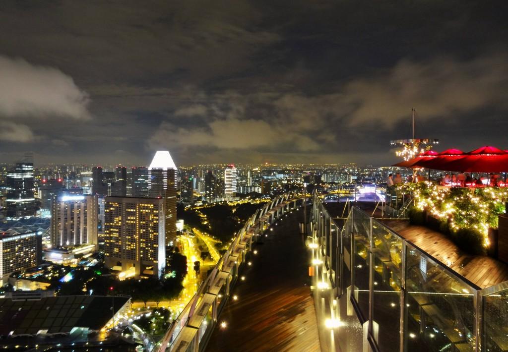 Skybar auf dem Marina Bay Sands