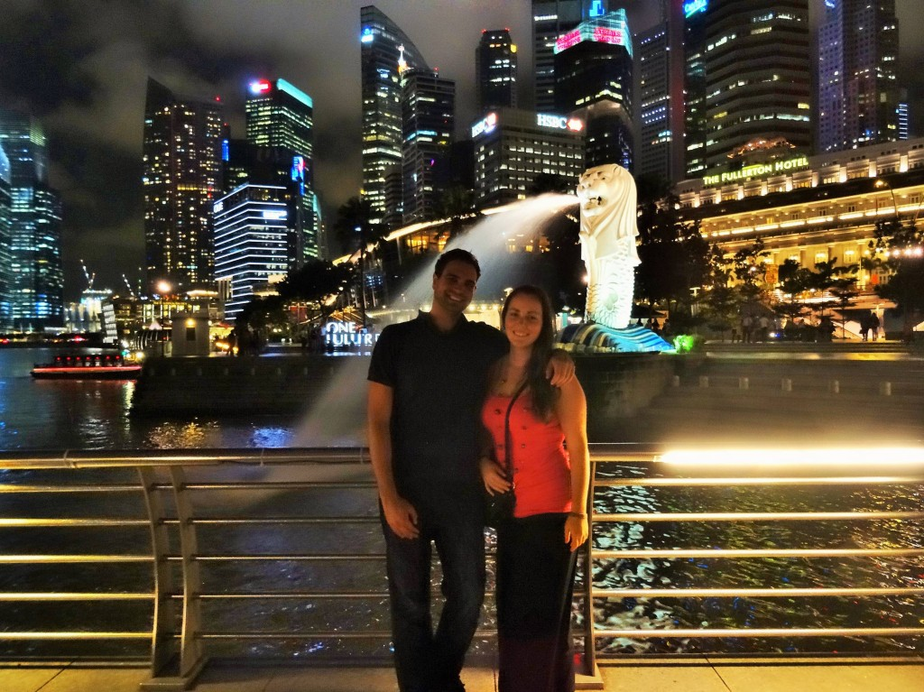 The two of us in Singapur