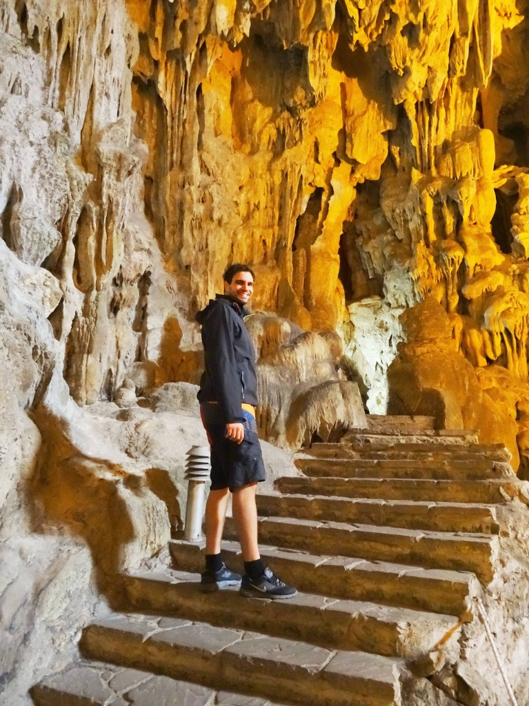 Auf Erkundungstour durch die Tropfsteinhöhlen...