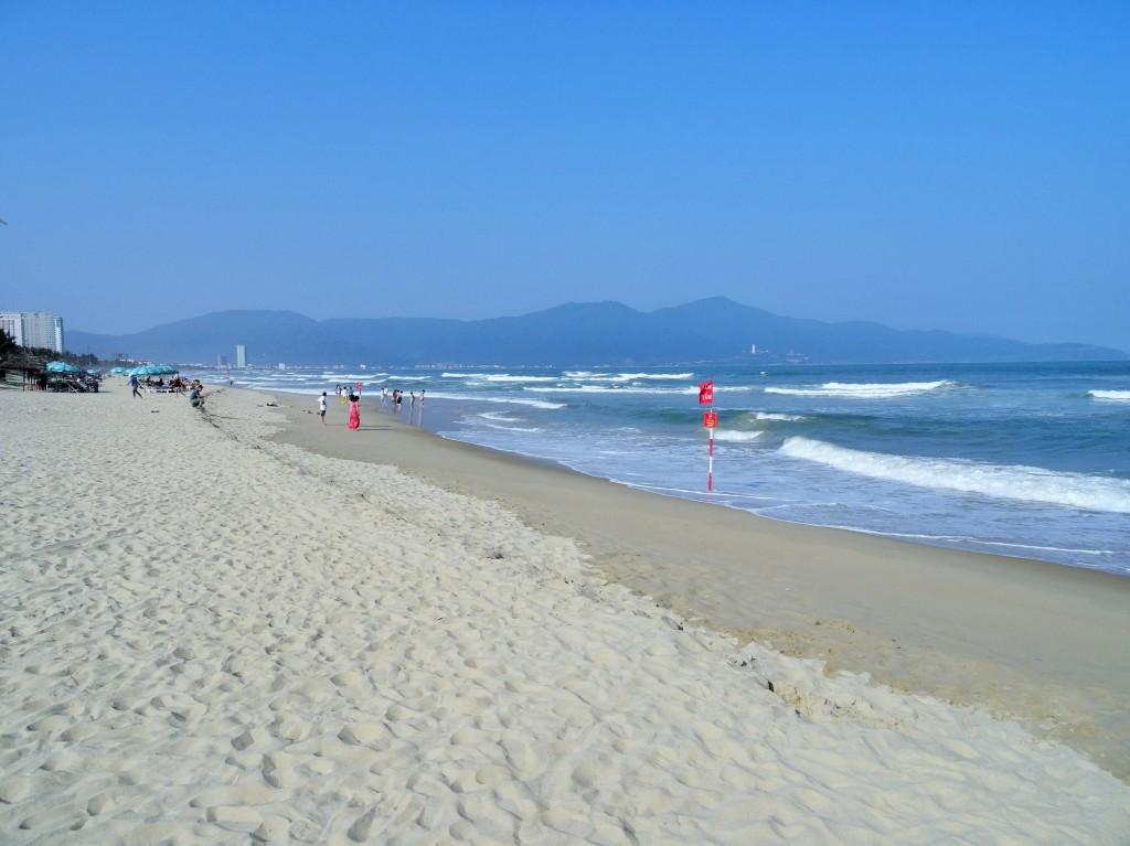 Der Strand von Danang