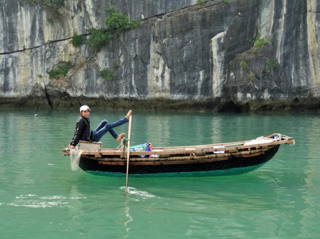 Die Bucht hat eine Wasserfläche von 1500 Quadratkilometern...