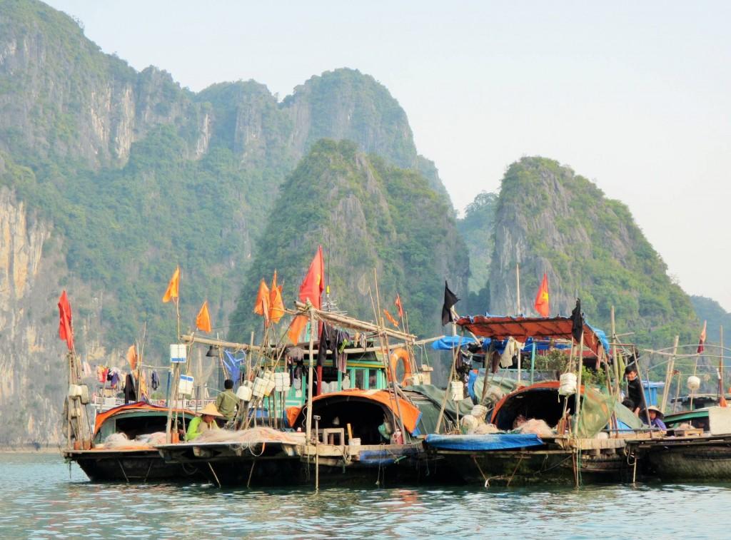 Die Insulaner leben vorwiegend vom Fischfang, der Austernzucht und vom Tourismus.