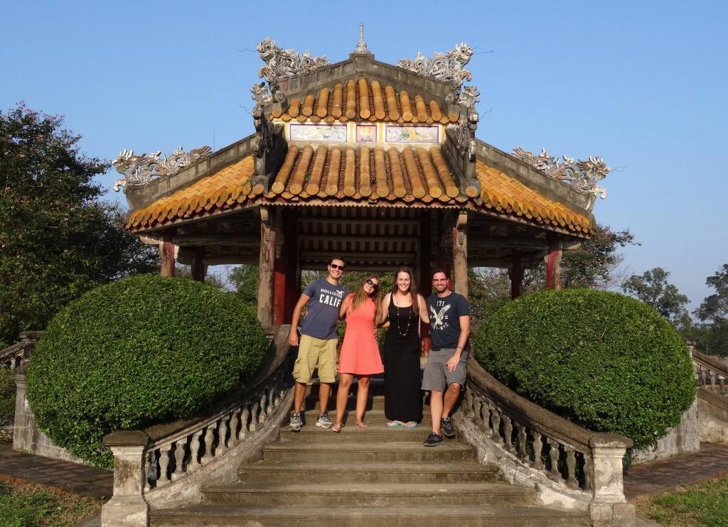 Die Tempelanlage von Hué