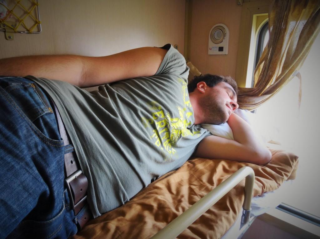 Gemütliche Fahrt im Schlafwagen