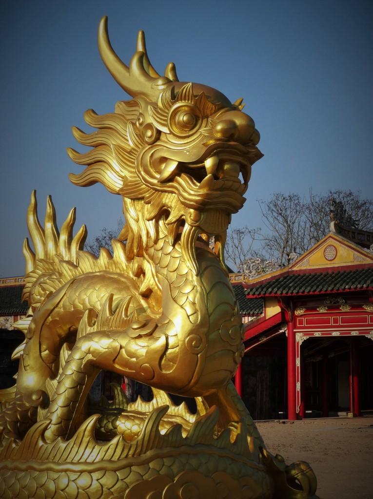 Hue ist die einstige Hauptstadt der Nguyen - Dynastie