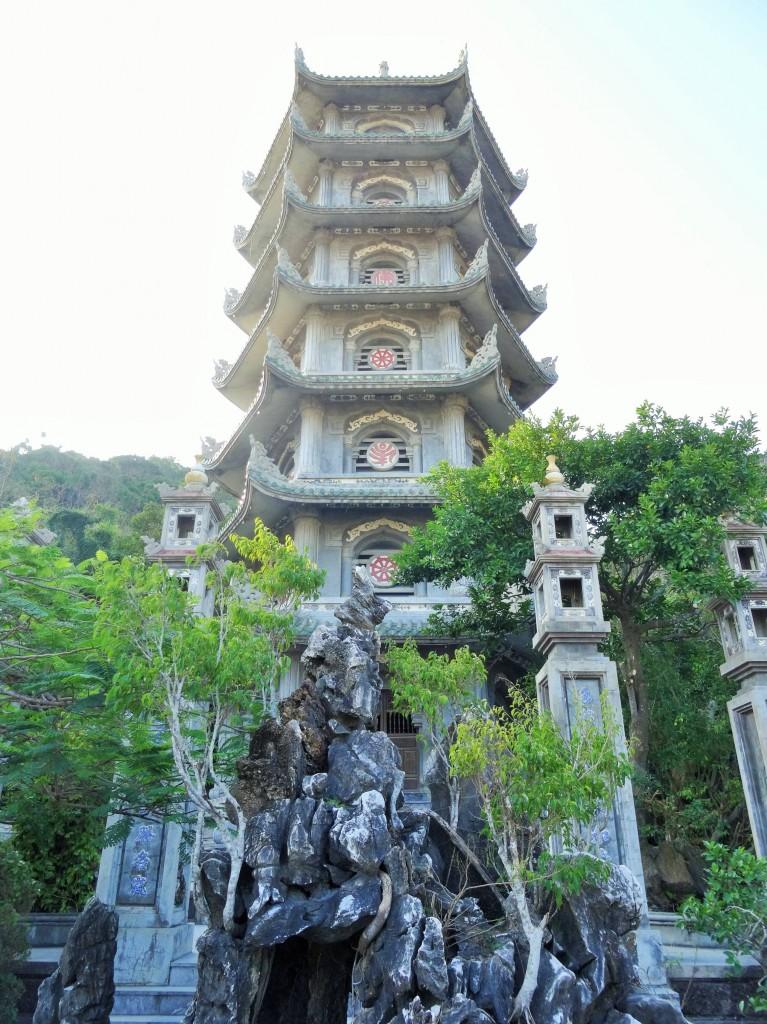 Tempelanlage zwischen Danang und Hoi An