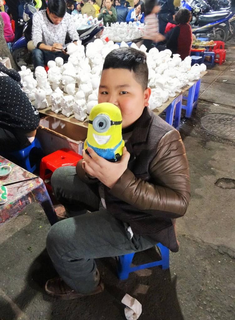 Vietnamesen sind wie Minions... sie sind fleissig, motiviert, nett und man versteht kein Wort wenn sie sich unterhalten...