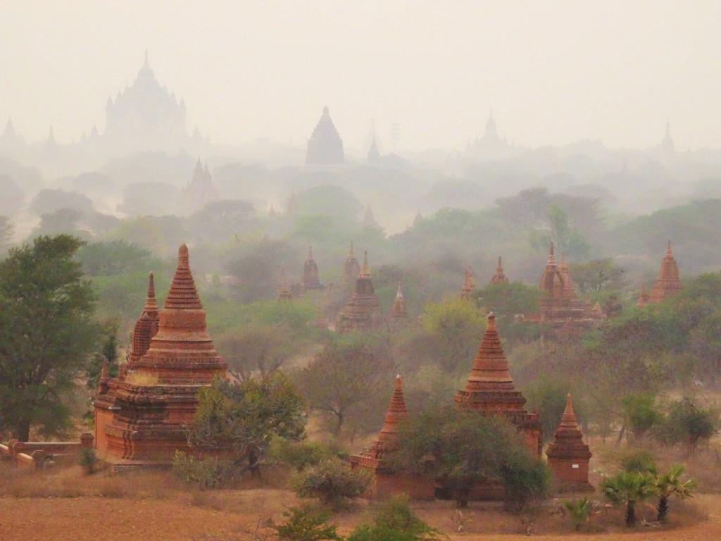 Über 2000 Tempel und Pagoden gibt es hier zu entdecken