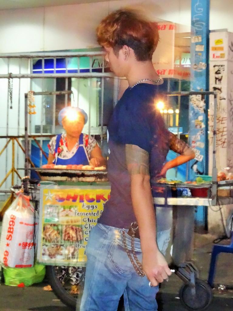 An der Khao San Road...