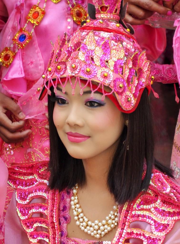 Burmesische Schönheit