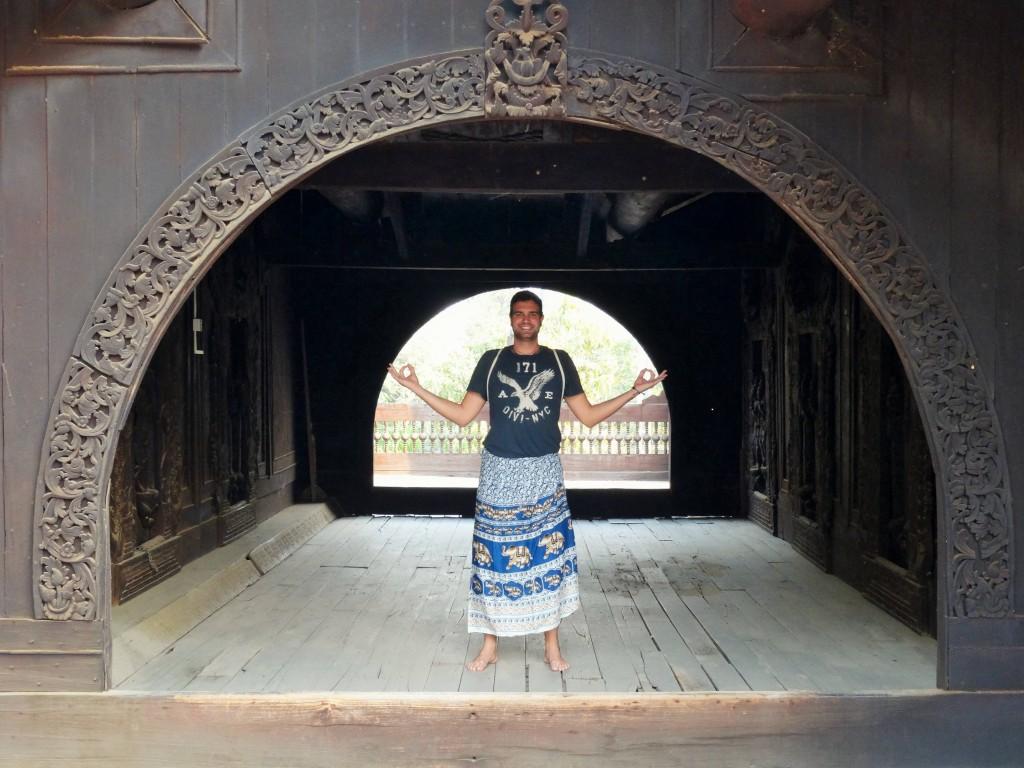 Das Shwe In Bin Kloster wurde 1895 von chinesischen Kaufleuten erbaut