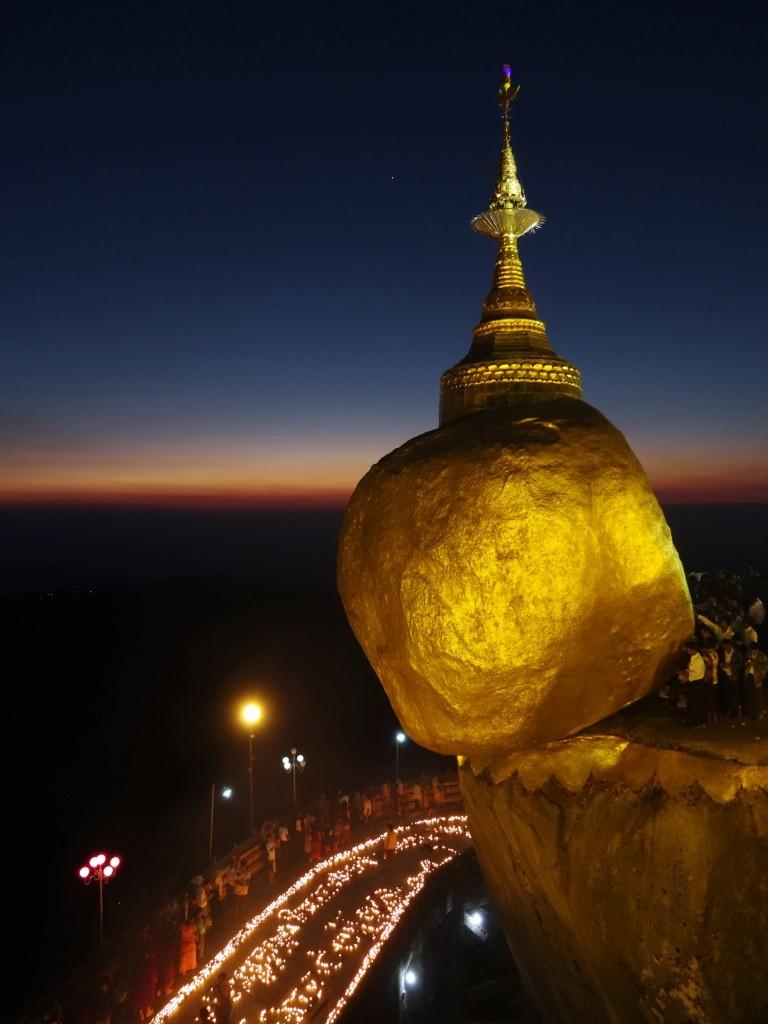 Der Goldene Fels - ein wichtiger Pilgerort