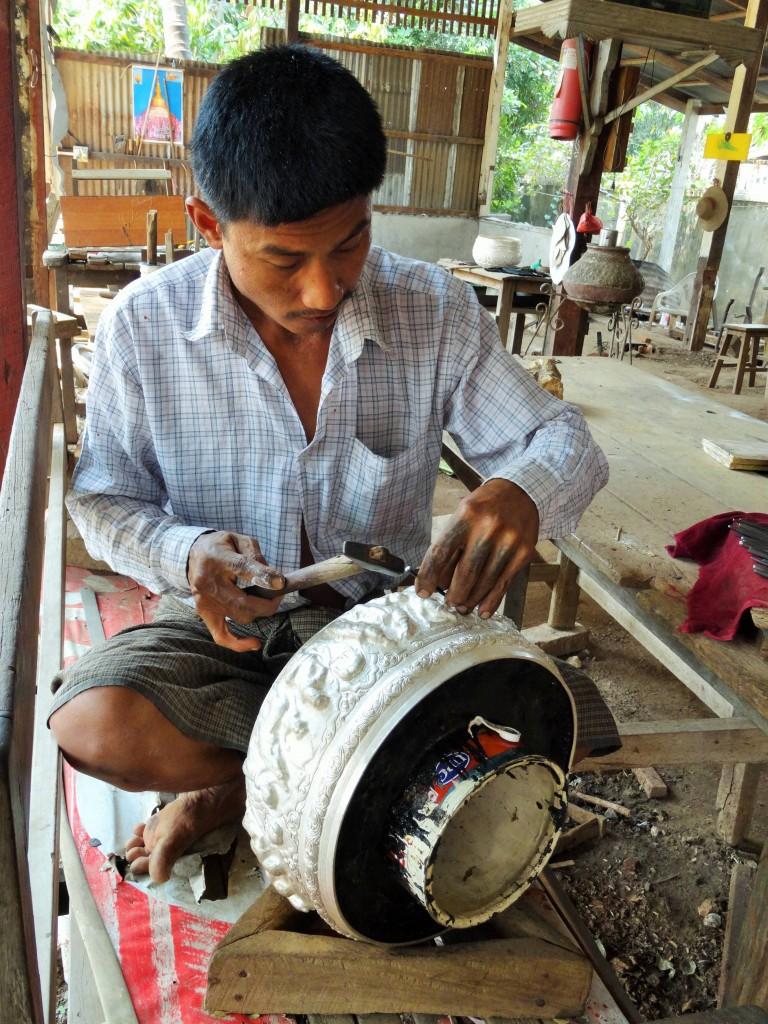 Die Herstellung von Silberwaren gehört zur Tradition
