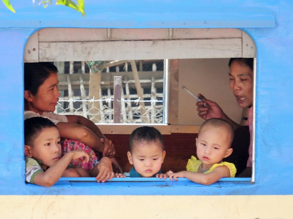 Familien - Ausflug mit dem Zug