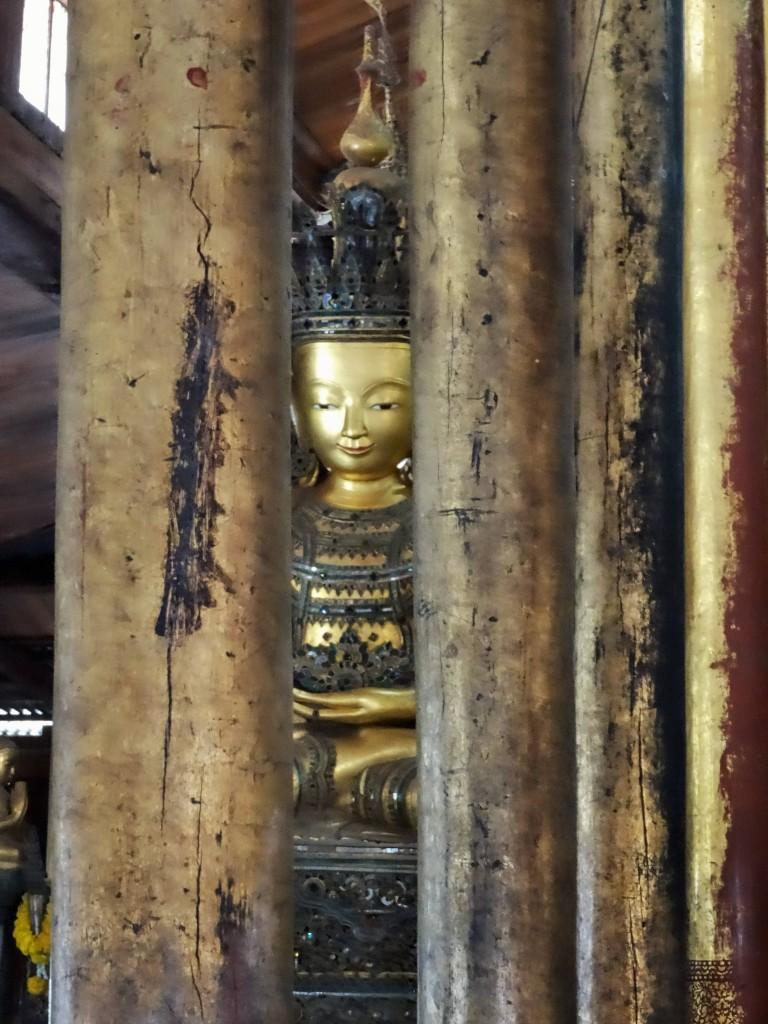 Im alten Nga Phe Kyaung Kloster