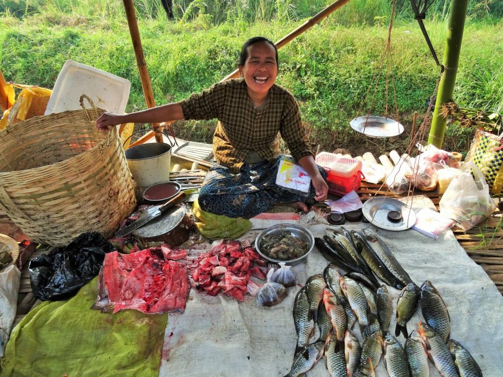 In keinem anderen Land sind die Leute so freundlich wie in Burma