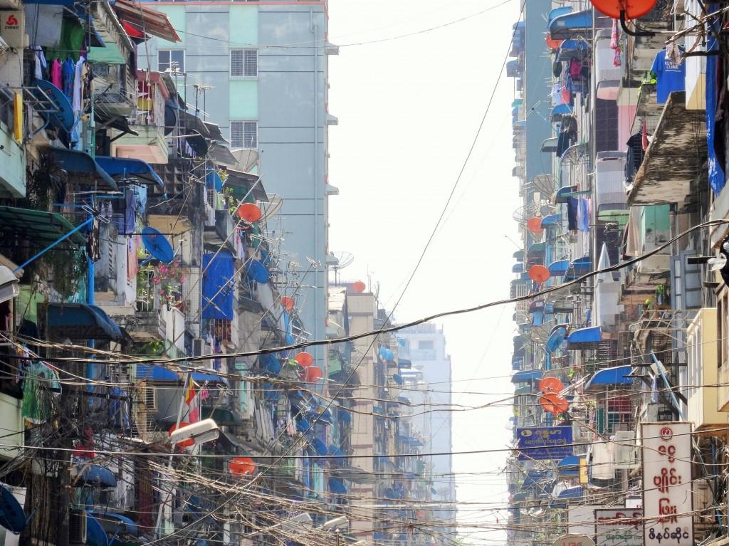 Yangons Stadtbild