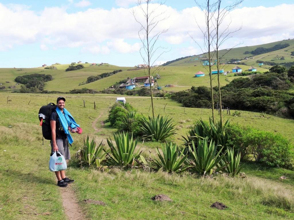 Ankunft im Xhosa - Land