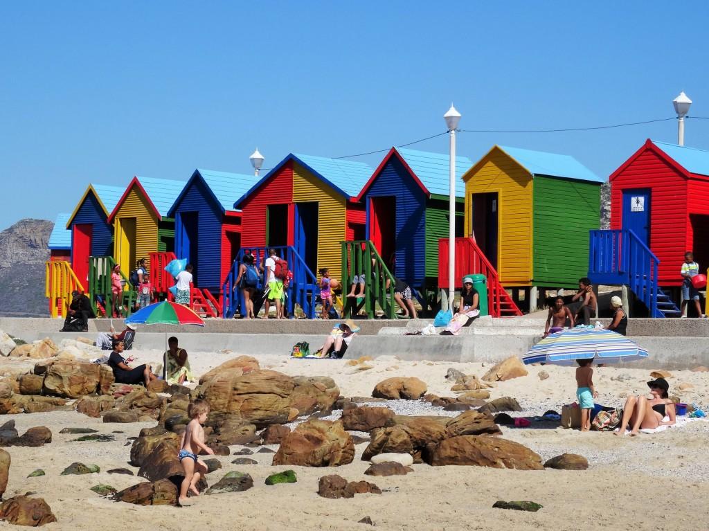 Colourful Beachhouses