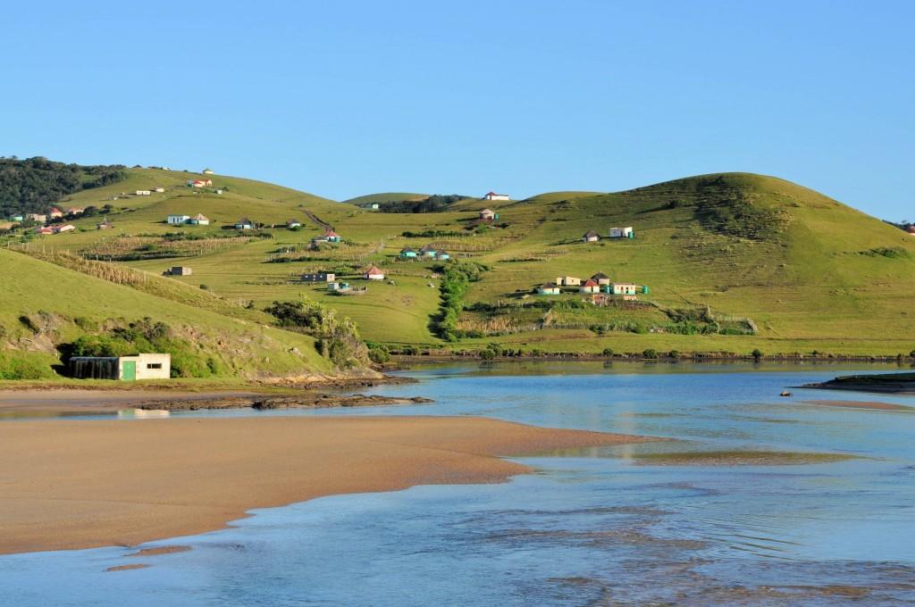 ... in der Nähe eines Xhosa - Dorfes