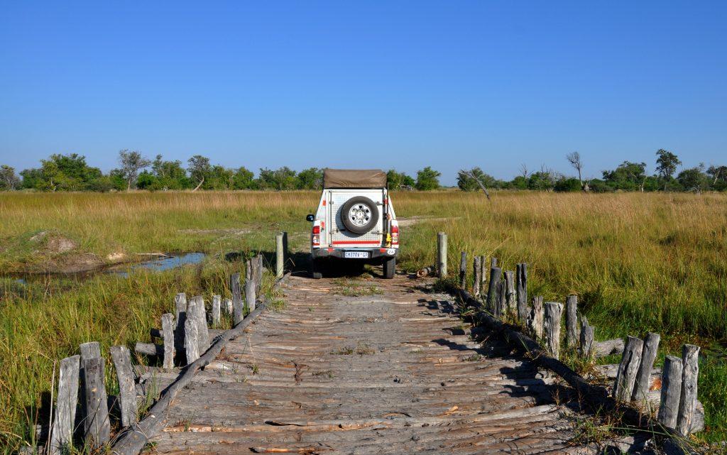 Fahrt im Moremi Game Reserve